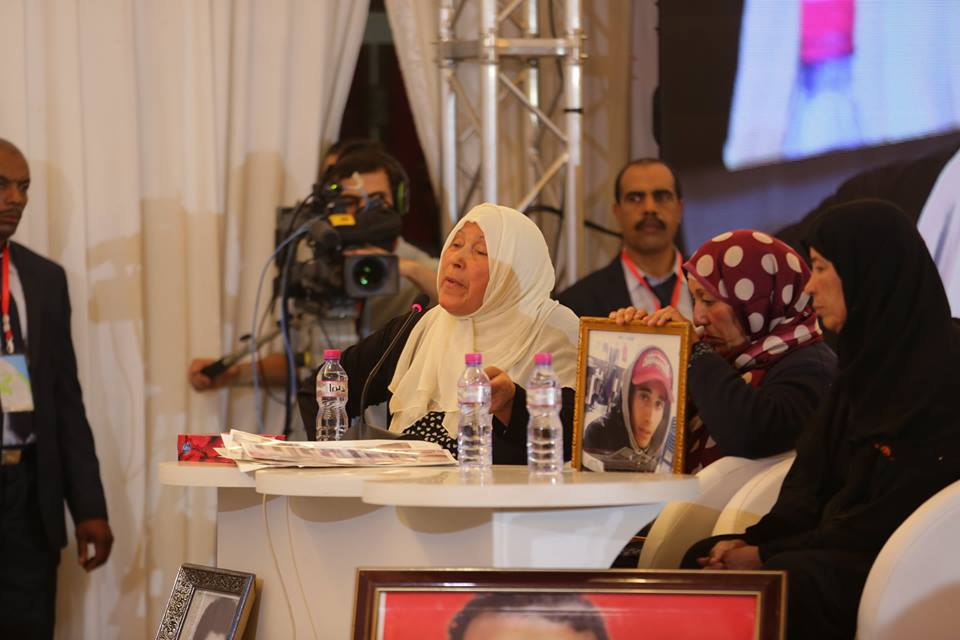 Hamami Fatma mère de martyr Farhani Anis